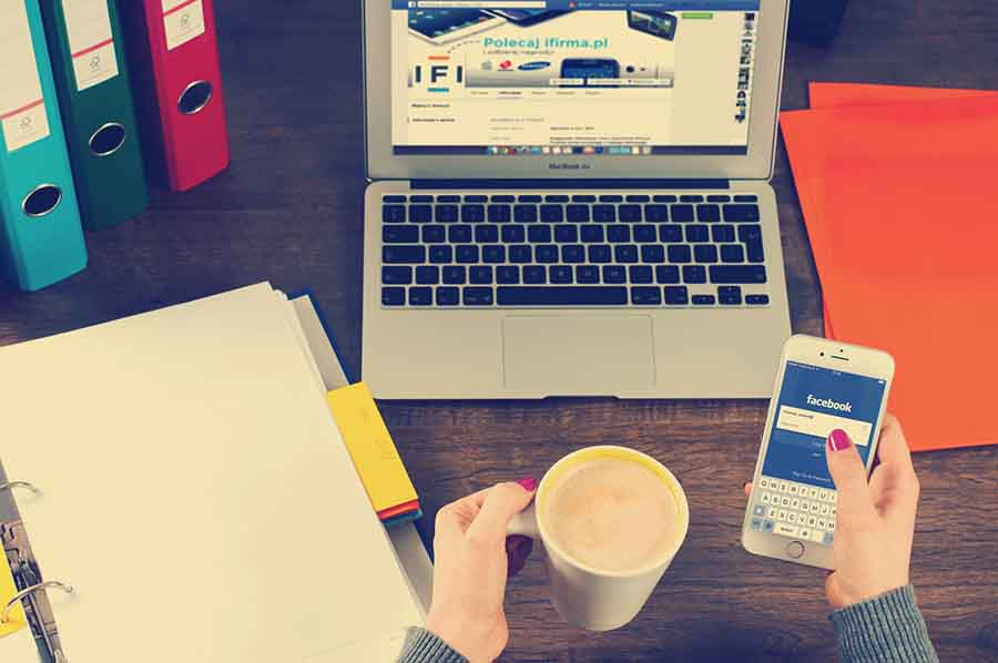 agencia de redes sociales - escritorio