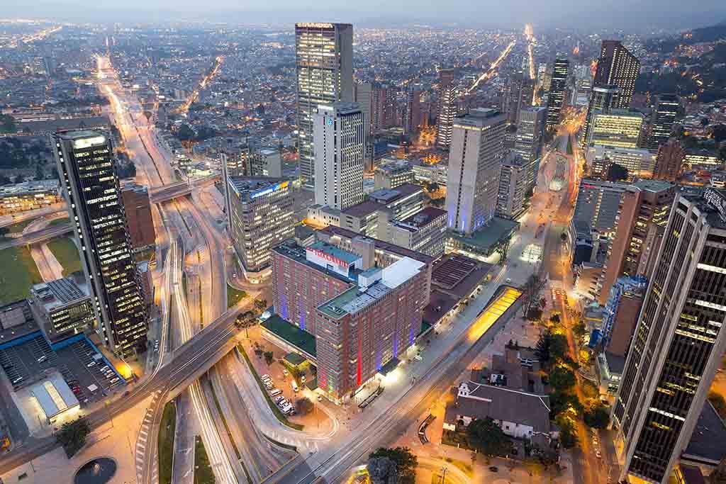 Gestión de redes sociales Colombia - Ciudad de Bogotá