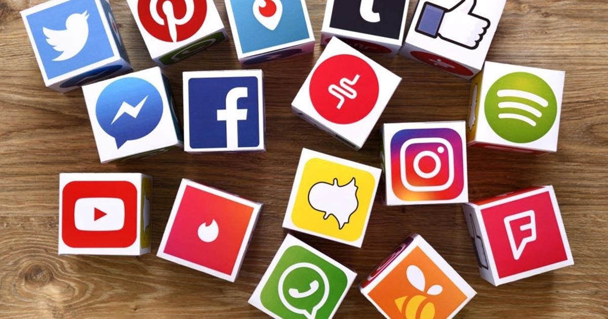 Cubos de medios sociales