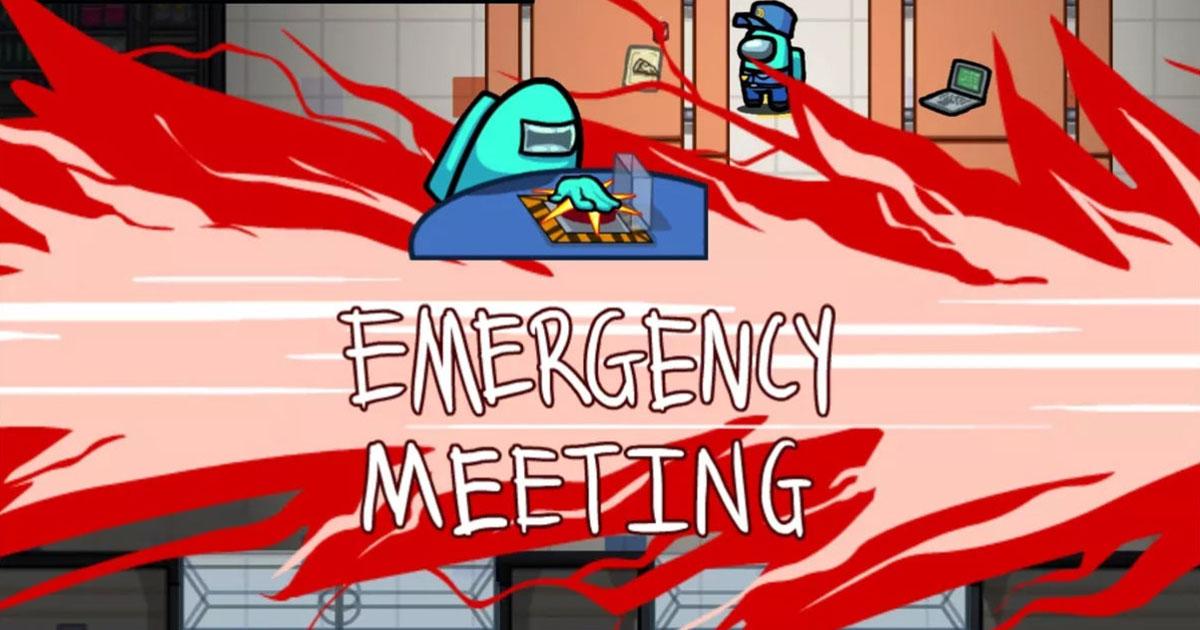 Cada vez que alguien descubre la escena de un crimen o tenga sospechas puede convocar una reunión urgente.
