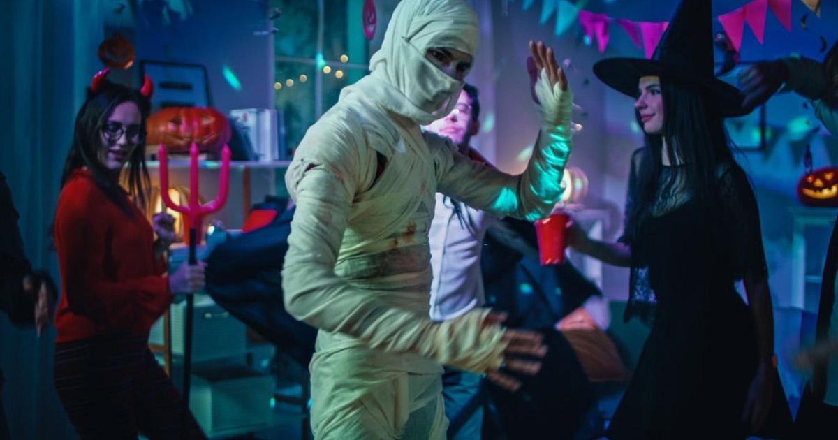 La celebración de Halloween se ha exportado a muchos países como Venezuela y se pueden ver muchos disfraces ingeniosos.