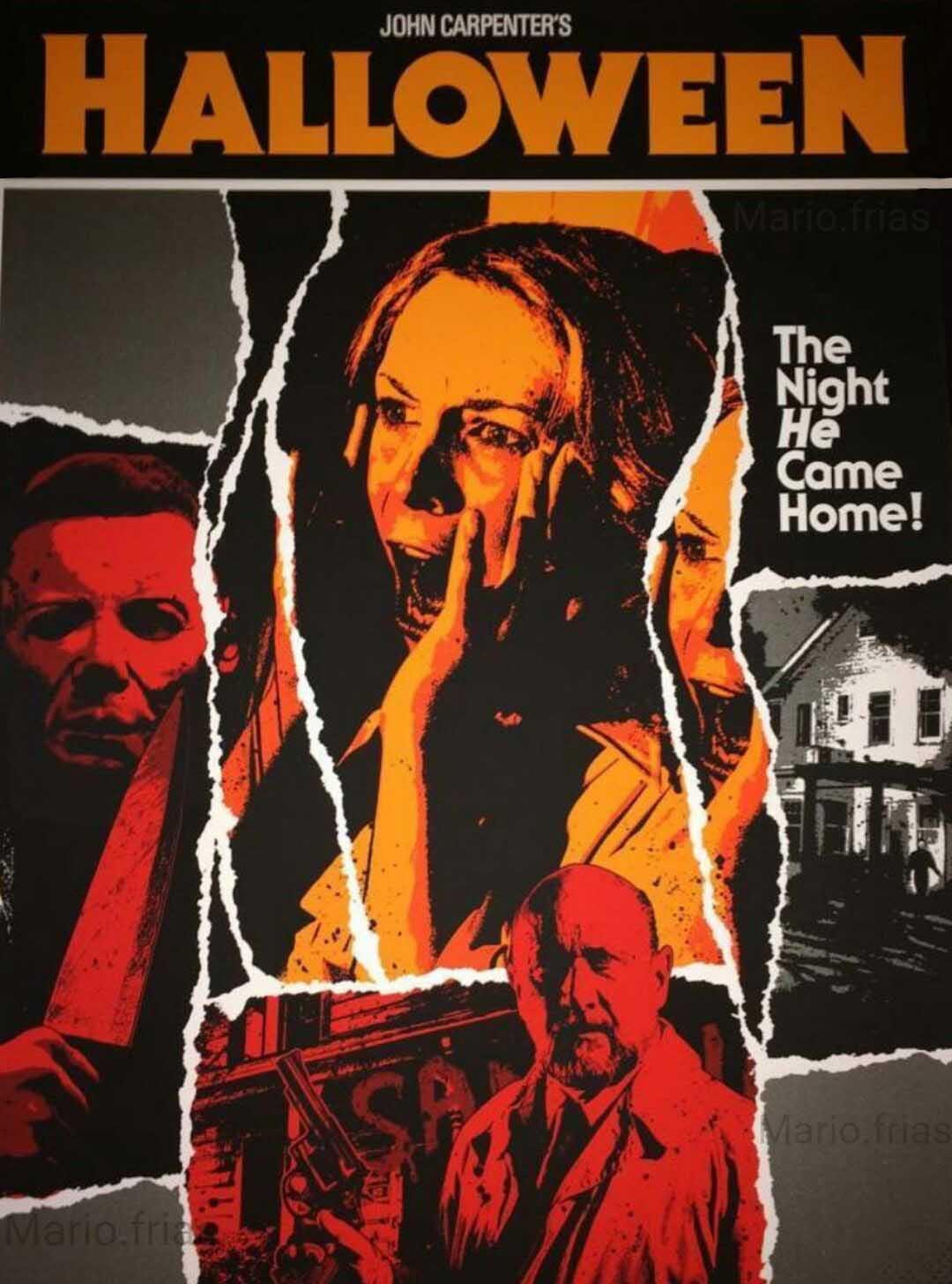 """Halloween"", el film de terror de John Carpenter."