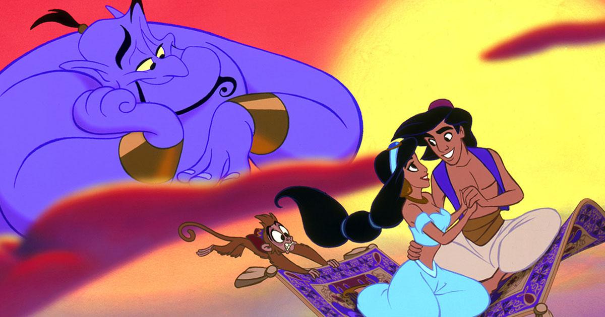 La película estuvo inspirada en la historia árabe Aladino.
